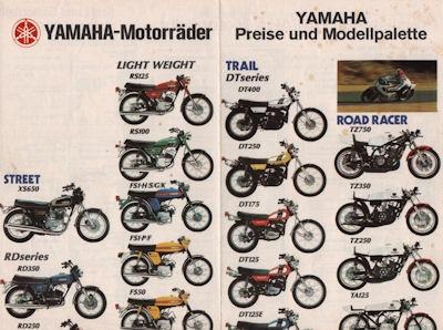 Yamaha Programm 1975 0