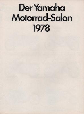 Yamaha Programm 1978 0
