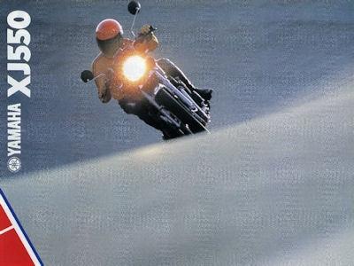 Yamaha XJ 550 Prospekt 1981 0