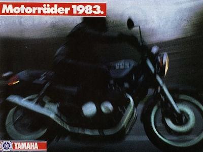 Yamaha Programm 1983