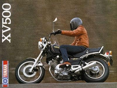 Yamaha XV 500 Prospekt 1983 0