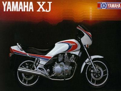 Yamaha XJ Prospekt 1983 0