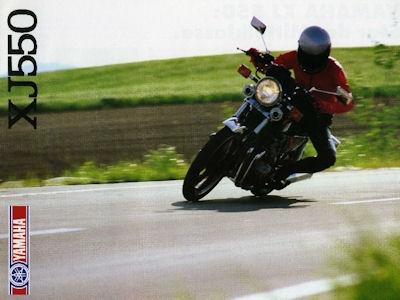 Yamaha XJ 550 Prospekt 1983 0
