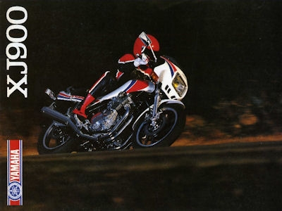 Yamaha XJ 900 Prospekt 1983 0
