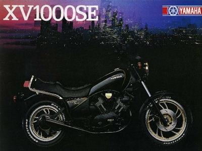 Yamaha XV 1000 SE Prospekt 1983 0