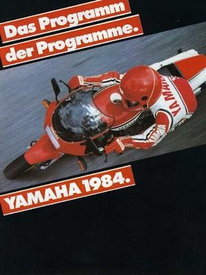 Yamaha Programm 1984