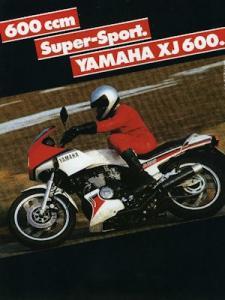 Yamaha XJ 600 Prospekt 1984
