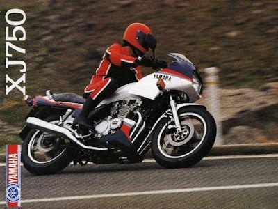 Yamaha XJ 750 Prospekt 1984 0