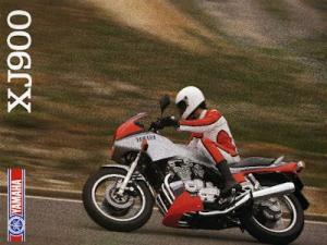 Yamaha XJ 900 Prospekt 1984