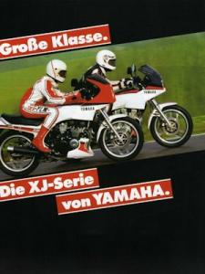 Yamaha XJ Programm 1985