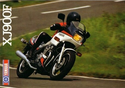 Yamaha XJ 900 F Prospekt 1985