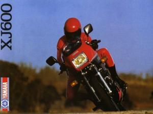 Yamaha XJ 600 Prospekt 1985