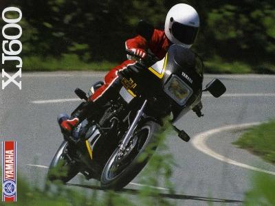 Yamaha XJ 600 Prospekt 1986