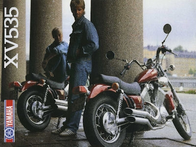 Yamaha XV 535 Prospekt 1988 0