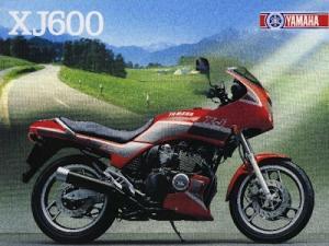 Yamaha XJ 600 Prospekt 1988