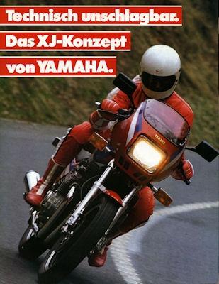 Yamaha XJ Prospekt 1984