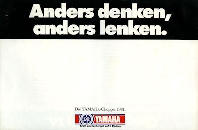 Yamaha Chopper Prospekt 1981 0