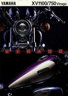 Yamaha XV 1100 / XV 750 Virago Prospekt 1995