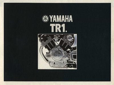 Yamaha TR 1 Prospekt 1981
