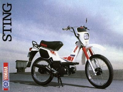 Yamaha Sting Prospekt 1983