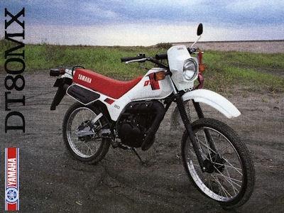 Yamaha DT 80 MX Prospekt 1983