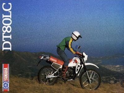 Yamaha DT 80 LC Prospekt 1983