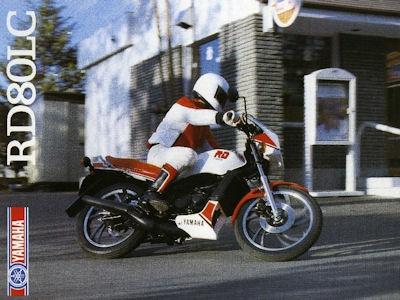 Yamaha RD 80 LC Prospekt 1983
