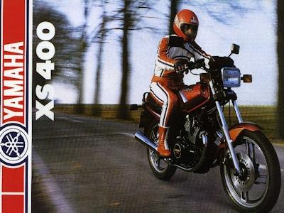 Yamaha XS 400 Prospekt 1983