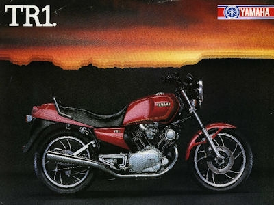 Yamaha TR 1 Prospekt 1983