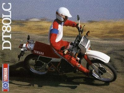 Yamaha DT 80 LC Prospekt 1984
