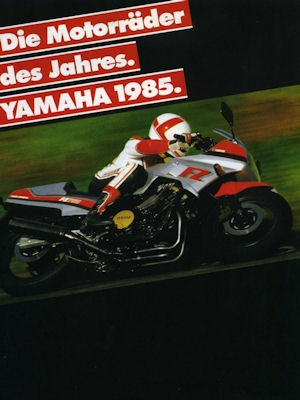 Yamaha Programm 1985