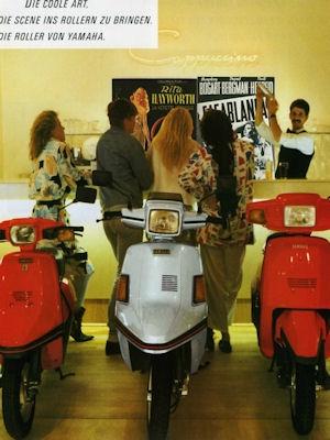Yamaha Roller Programm 1985