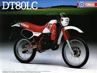 Yamaha DT 80 LC Prospekt 1985