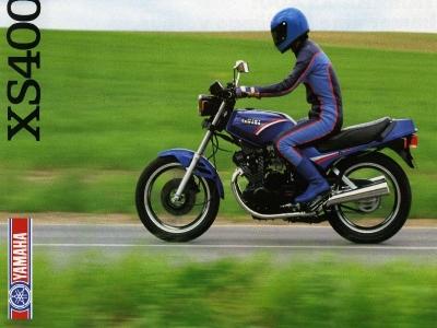 Yamaha XS 400 brochure 1986