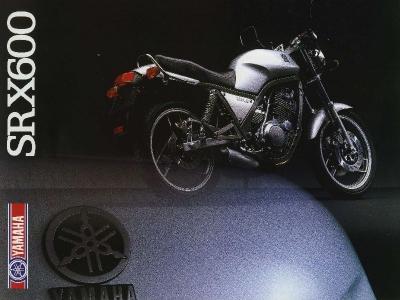 Yamaha SRX 600 Prospekt 1986