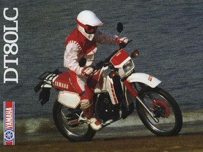 Yamaha DT 80 LC Prospekt 1987