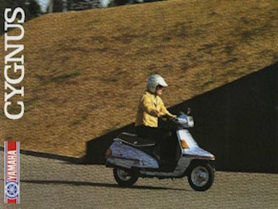 Yamaha Cygnus Prospekt 1987