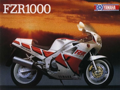 Yamaha FZR 1000 Prospekt 1987