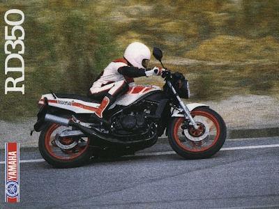 Yamaha RD 350 Prospekt 1987