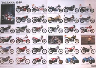 Yamaha Programm 1988