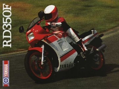Yamaha RD 350 F Prospekt 1988