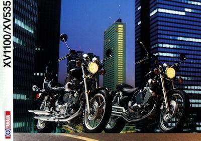 Yamaha XV 1100/535 Prospekt 1989