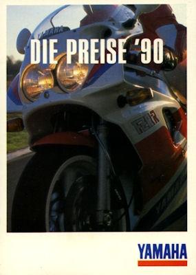 Yamaha Preisliste 1990