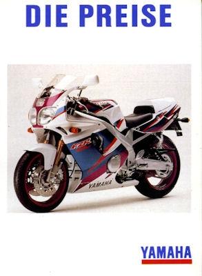 Yamaha Preisliste 1.2.1994