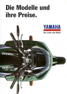 Yamaha Preisliste 1.1.1995