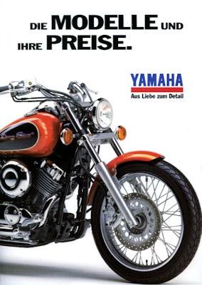 Yamaha Preisliste 1997