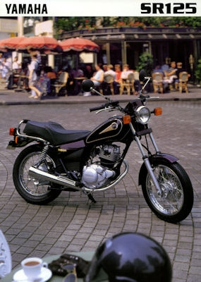 Yamaha SR 125 Prospekt 1997