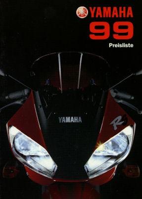 Yamaha Preisliste 1999