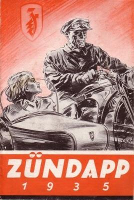 Zündapp Programm 1935