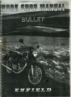 Enfield Bullet Reparaturanleitung ca. 1995